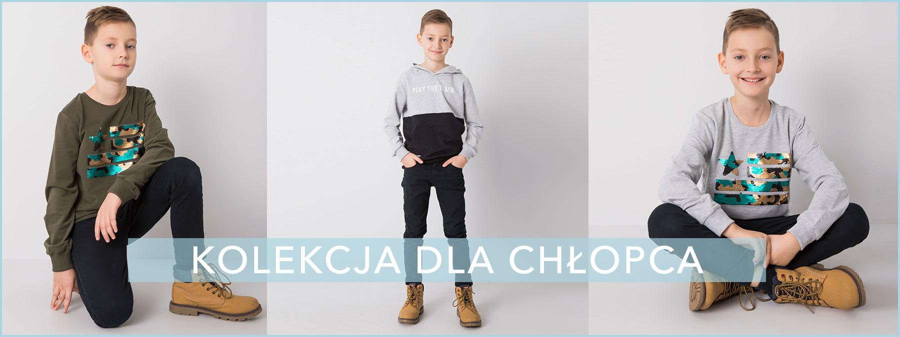 Odzież dla chłopców hurtownia online