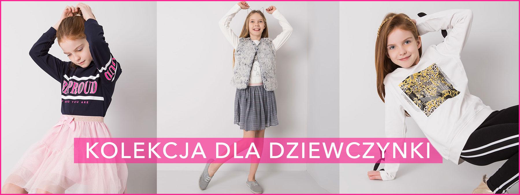 Odzież dla dziewczynek hurtownia online