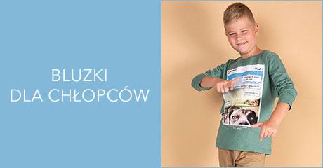 Bluzki dla chłopców hurtownia online