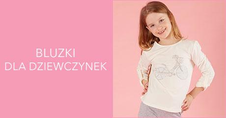 Bluzki dla dziewczynek hurtownia online