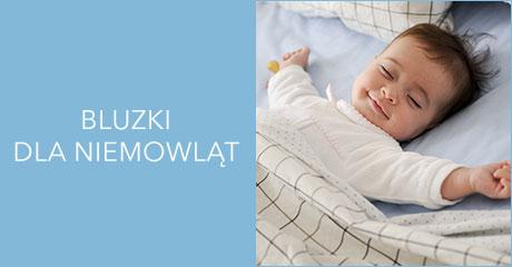 Bluzki dla niemowląt hurtownia online