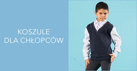 Koszule dla chłopców hurtownia online