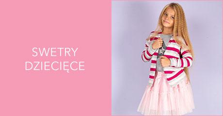 Swetry dla dziewczynek hurtownia online