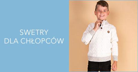 Swetry dla chłopców hurtownia online