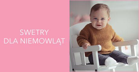 Swetry dla niemowląt hurtownia online
