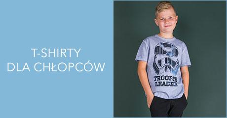 T-shirty dla chłopców hurtownia online