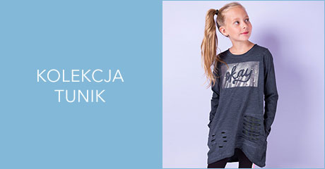 Tuniki dla dziewczynek  hurtownia online