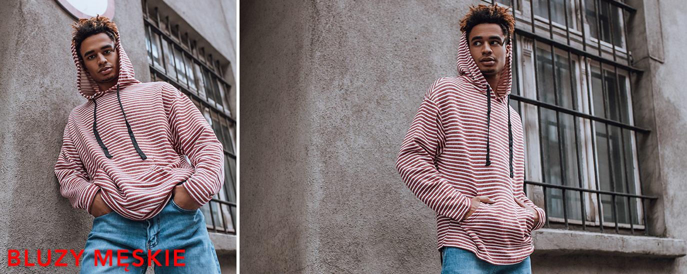Bluzy męskie hurtownia online