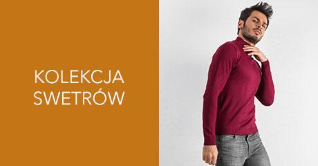 Męskie swetry hurtownia online